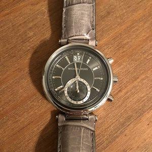 Michael Kors Watch Leather
